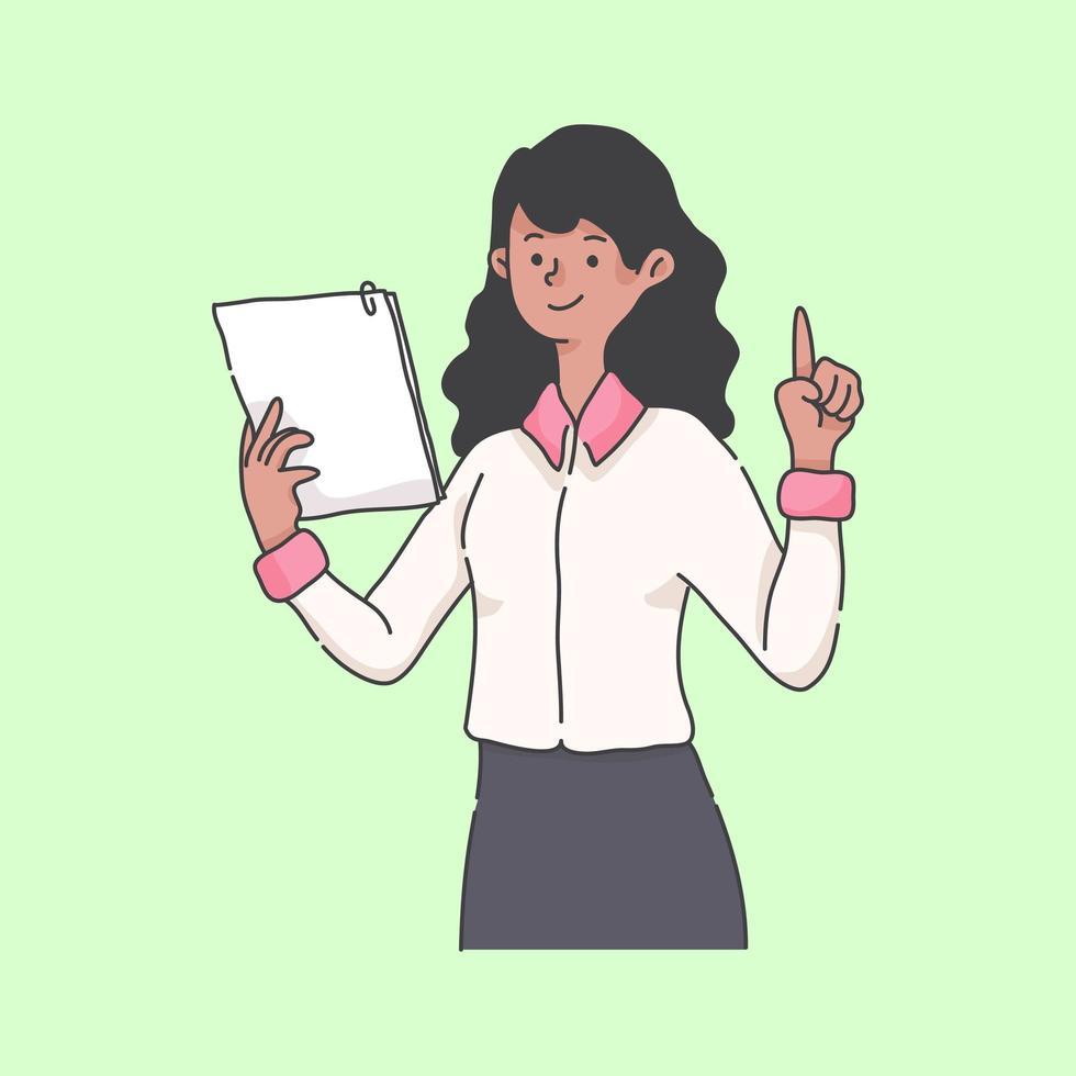 online handledning instruktör maskot karaktär illustration vektor