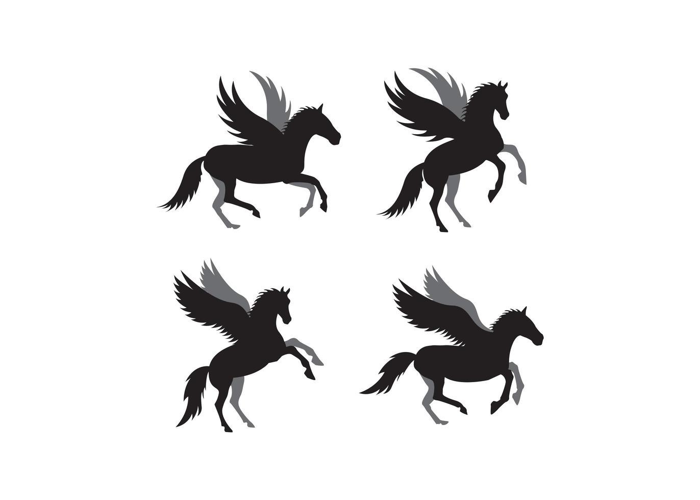 enhörning ikon designmall vektor isolerad illustration
