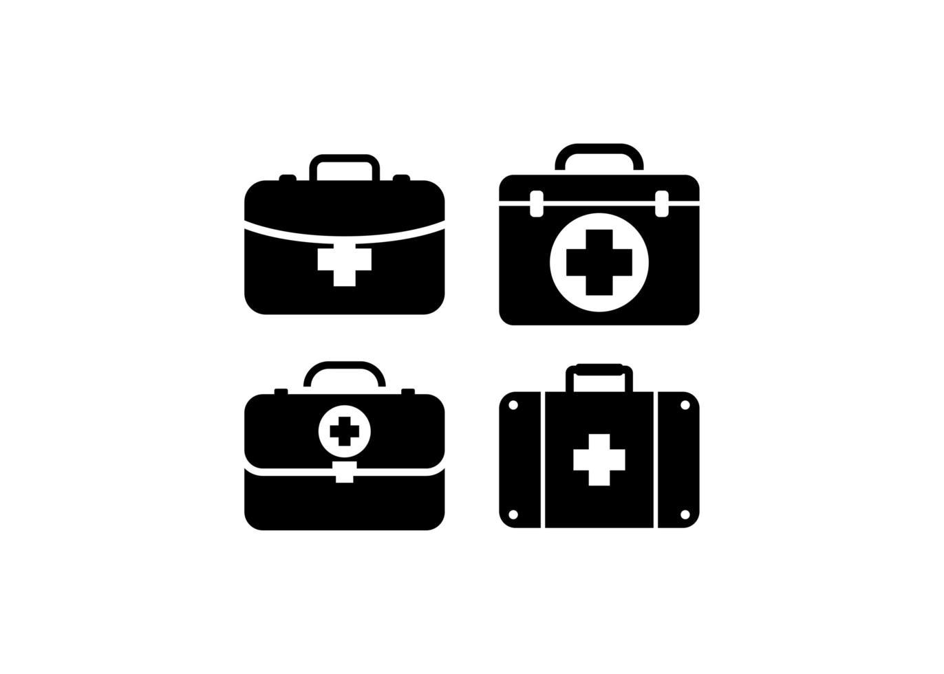 Erste-Hilfe-Kit Symbol Design Vorlage Vektor isolierte Illustration