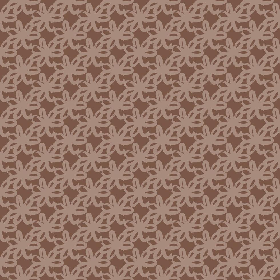 Vektor nahtlose Textur Hintergrundmuster. handgezeichnete, braune Farben.