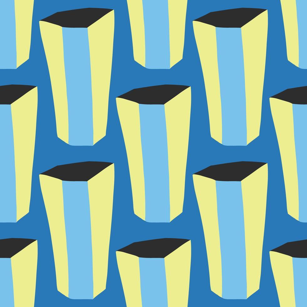 Vektor nahtloses Muster, Textur Hintergrund. handgemalt.