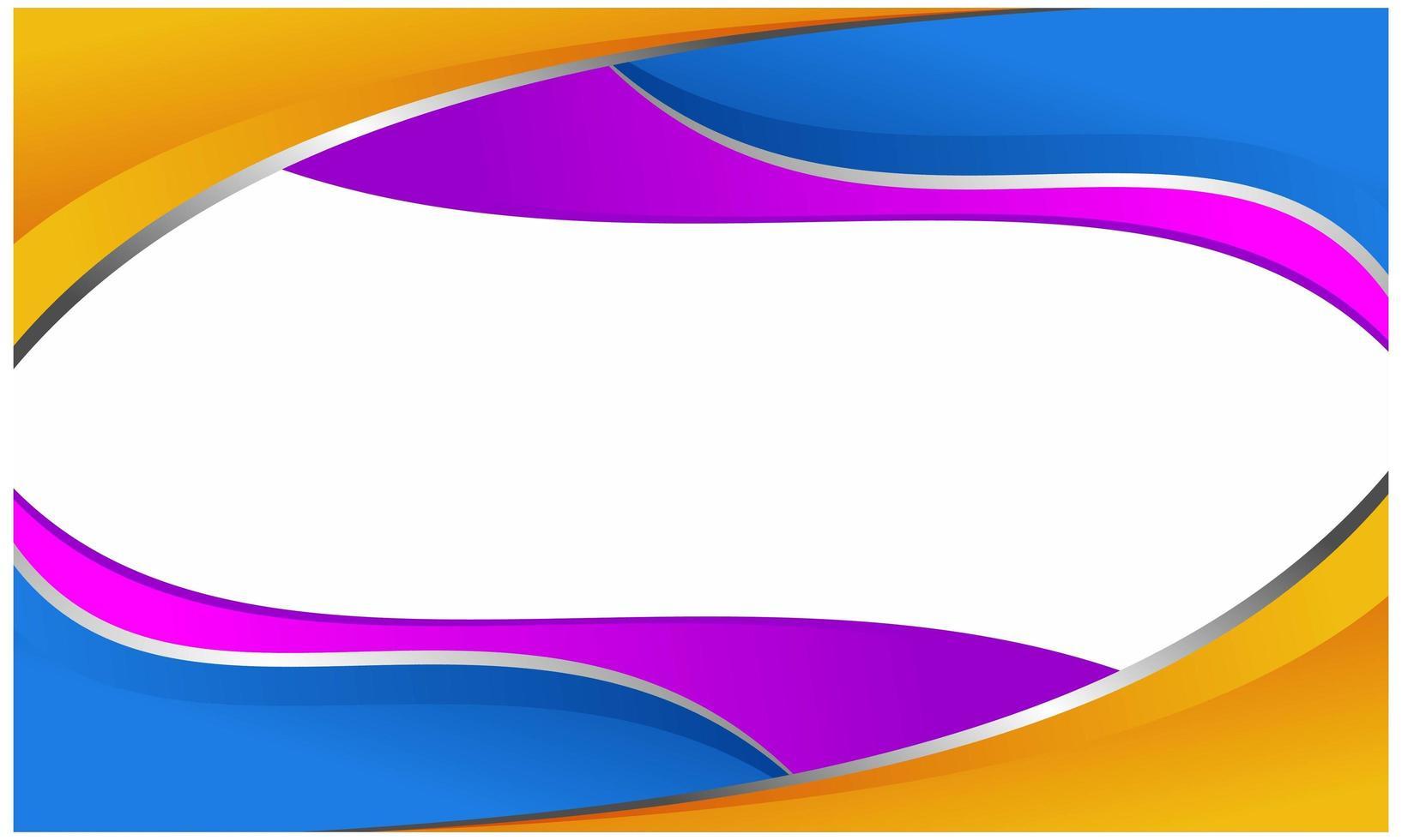 abstrakt bakgrundskoncept. färgglada flöde bakgrund vektor