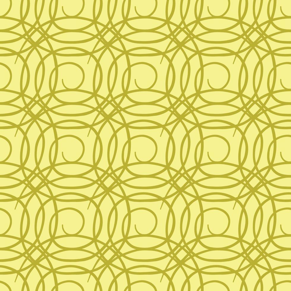Vektor nahtlose Textur Hintergrundmuster. handgezeichnet, gelb, goldfarben.