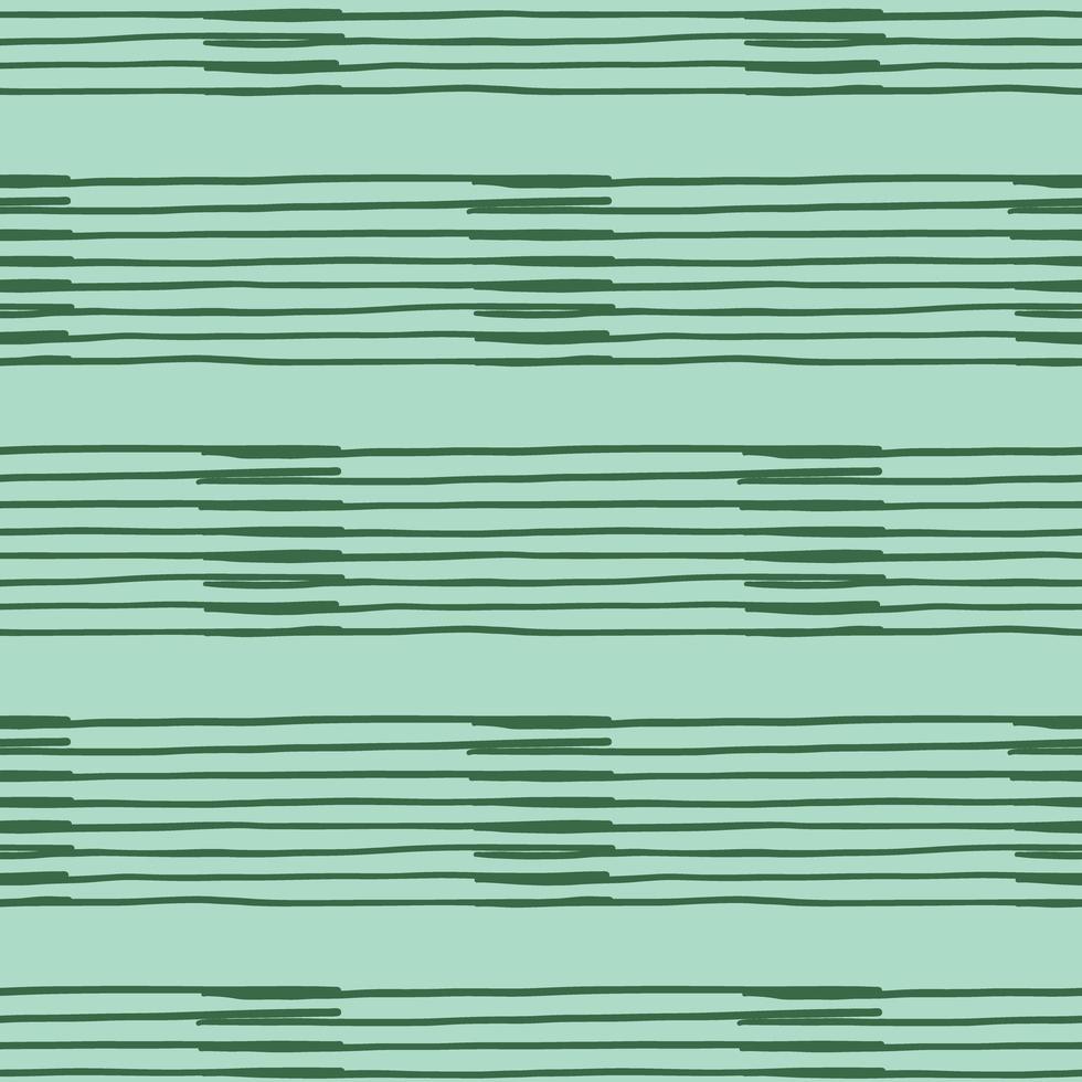 Vektor nahtlose Textur Hintergrundmuster. handgezeichnete, grüne Farben.