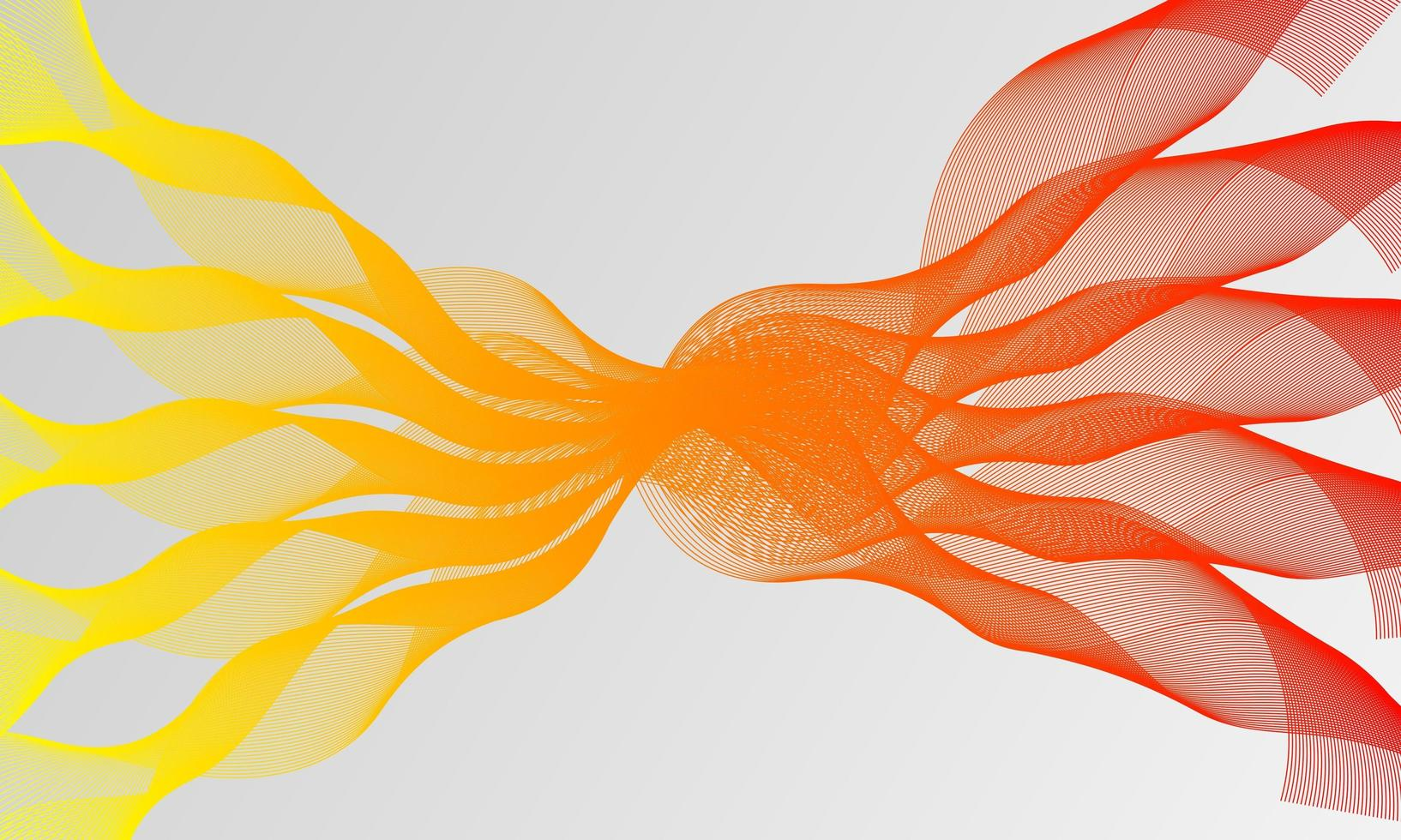 vektor abstrakt bakgrund med dynamiska vågor