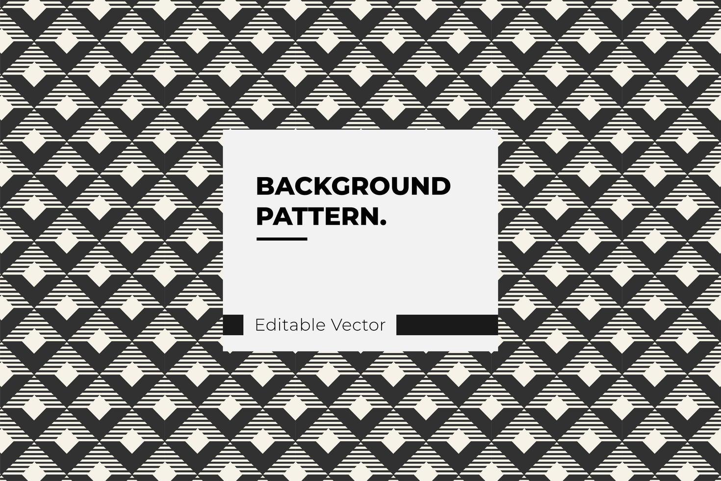 gestreiftes Rautenmuster vektor
