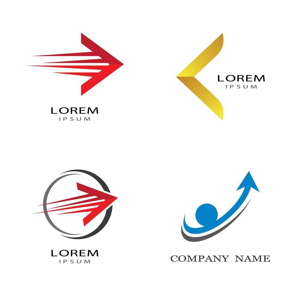 Pfeil Logo Bilder vektor