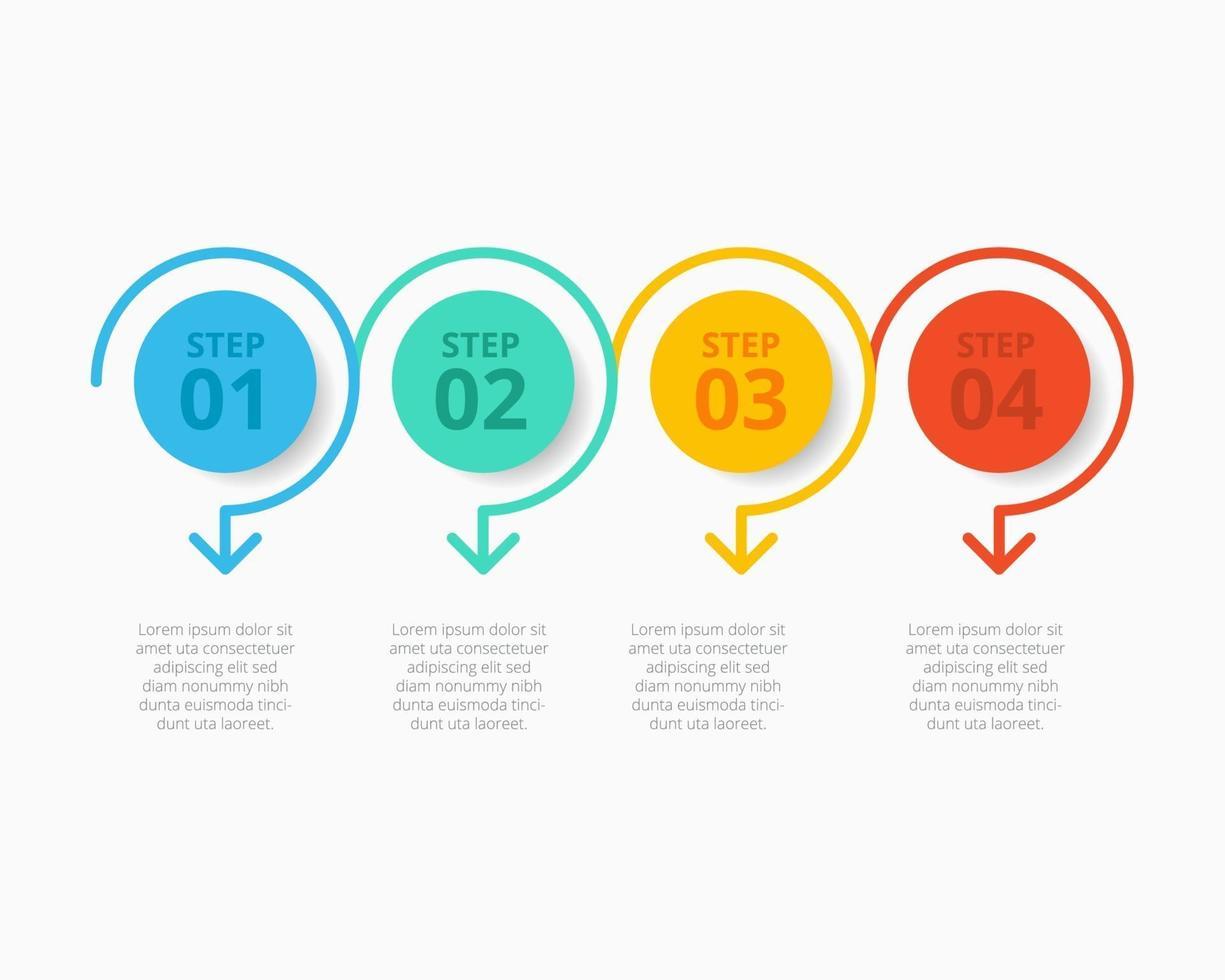 Geschäftsinfografiken Sammlung Vektor-Illustration Design vektor