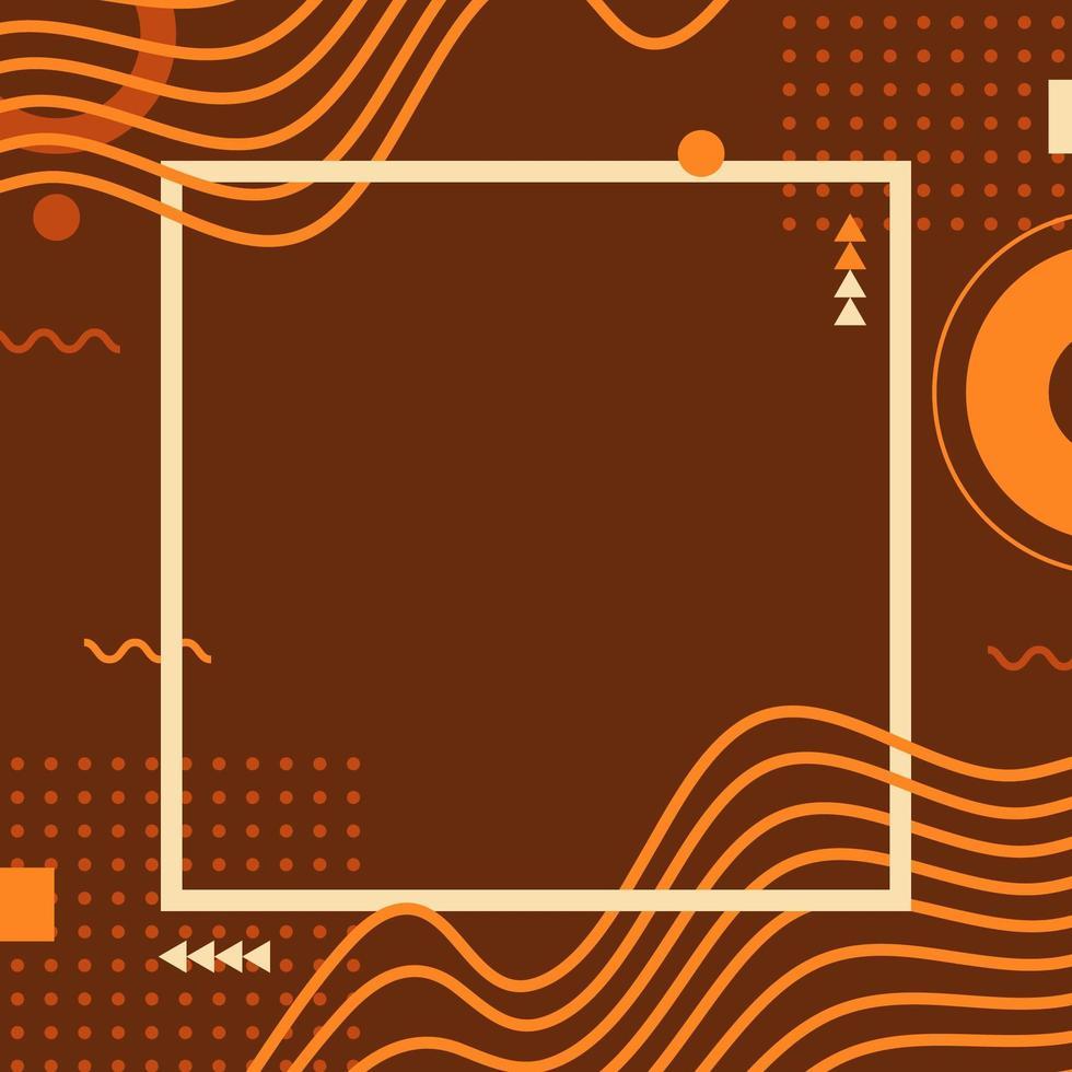 dynamisk abstrakt vågbakgrund vektor