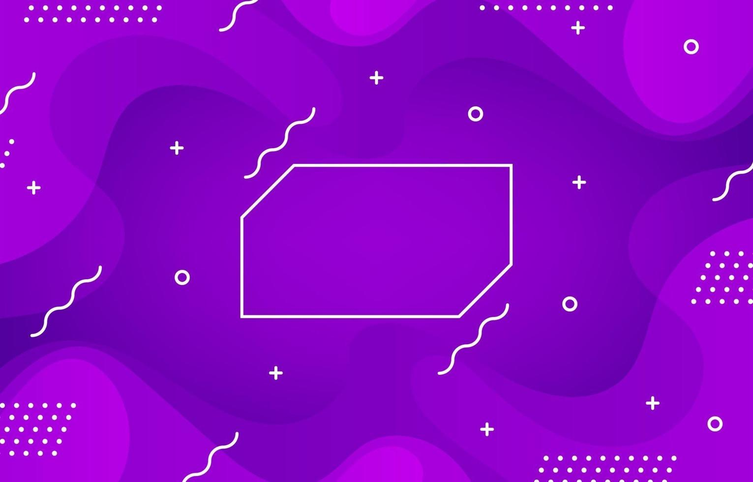 geometrisk lila vågbakgrund vektor