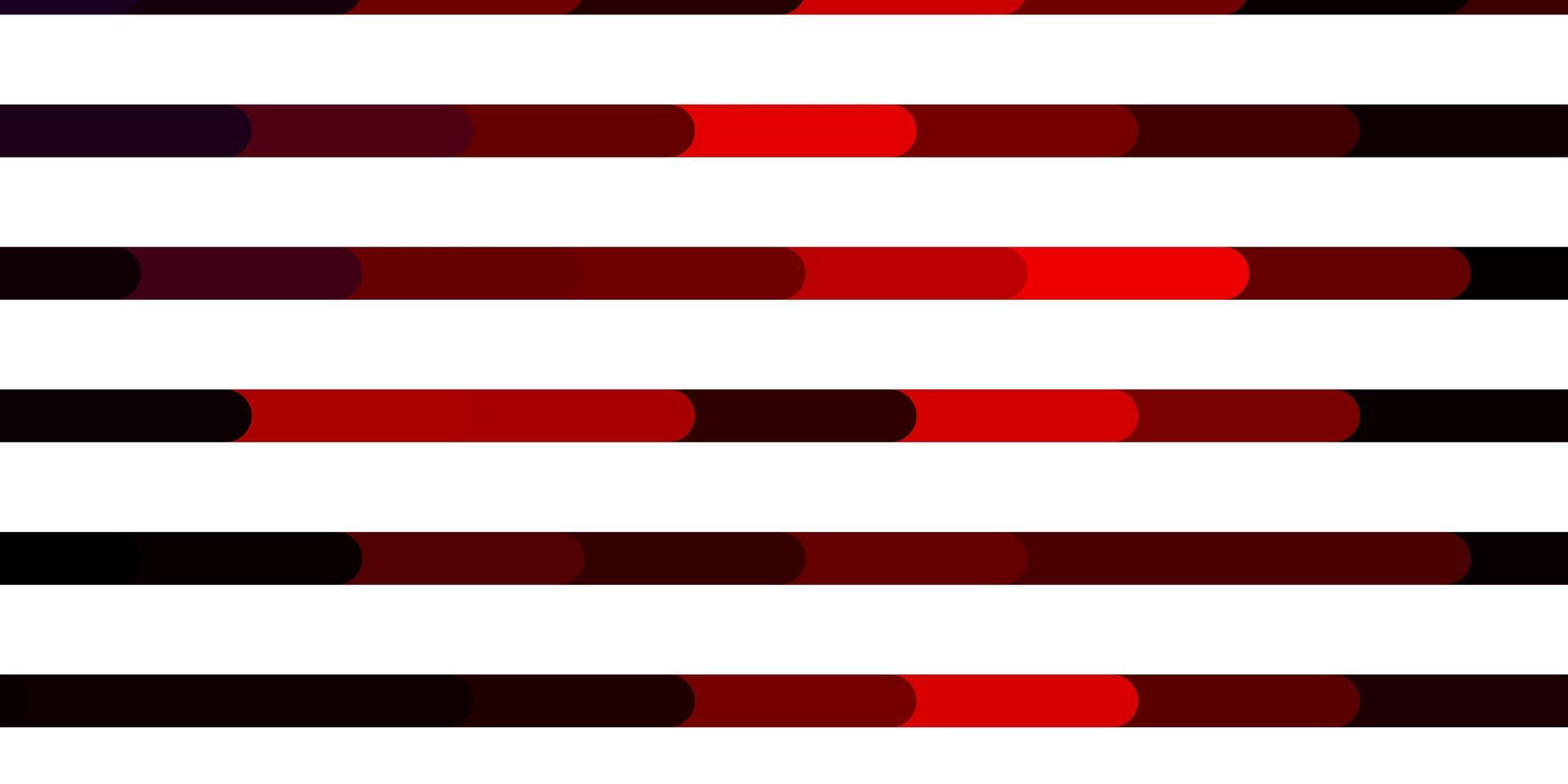 dunkelrosa, roter Vektorhintergrund mit Linien. vektor