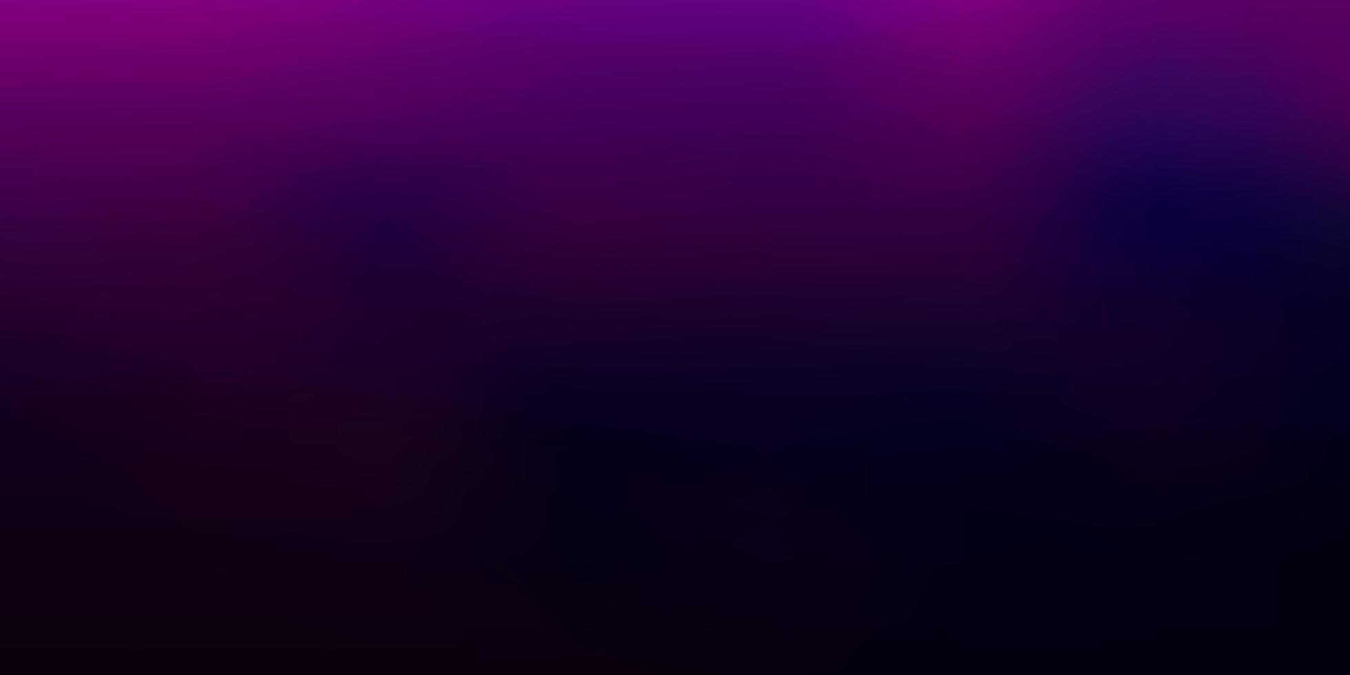 hellpurpurner, rosa Vektorgradienten-Unschärfehintergrund. vektor