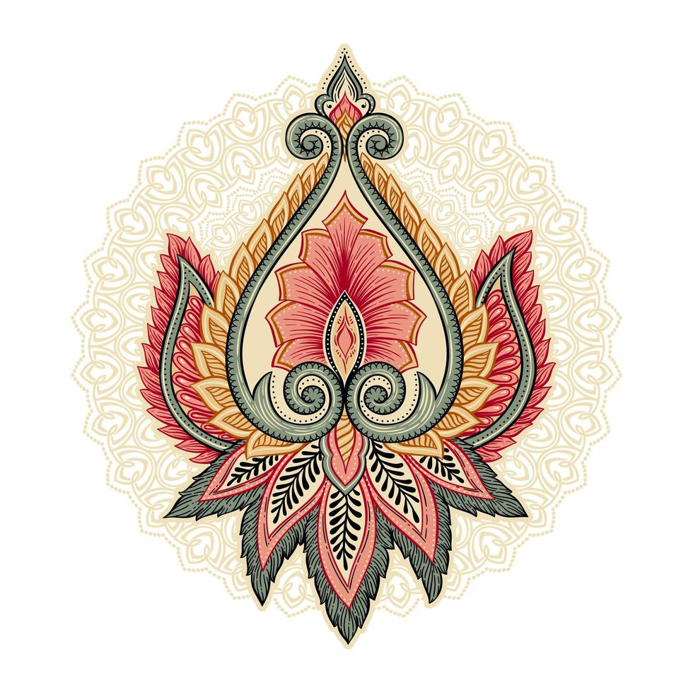 dekorative florale Elemente vektor