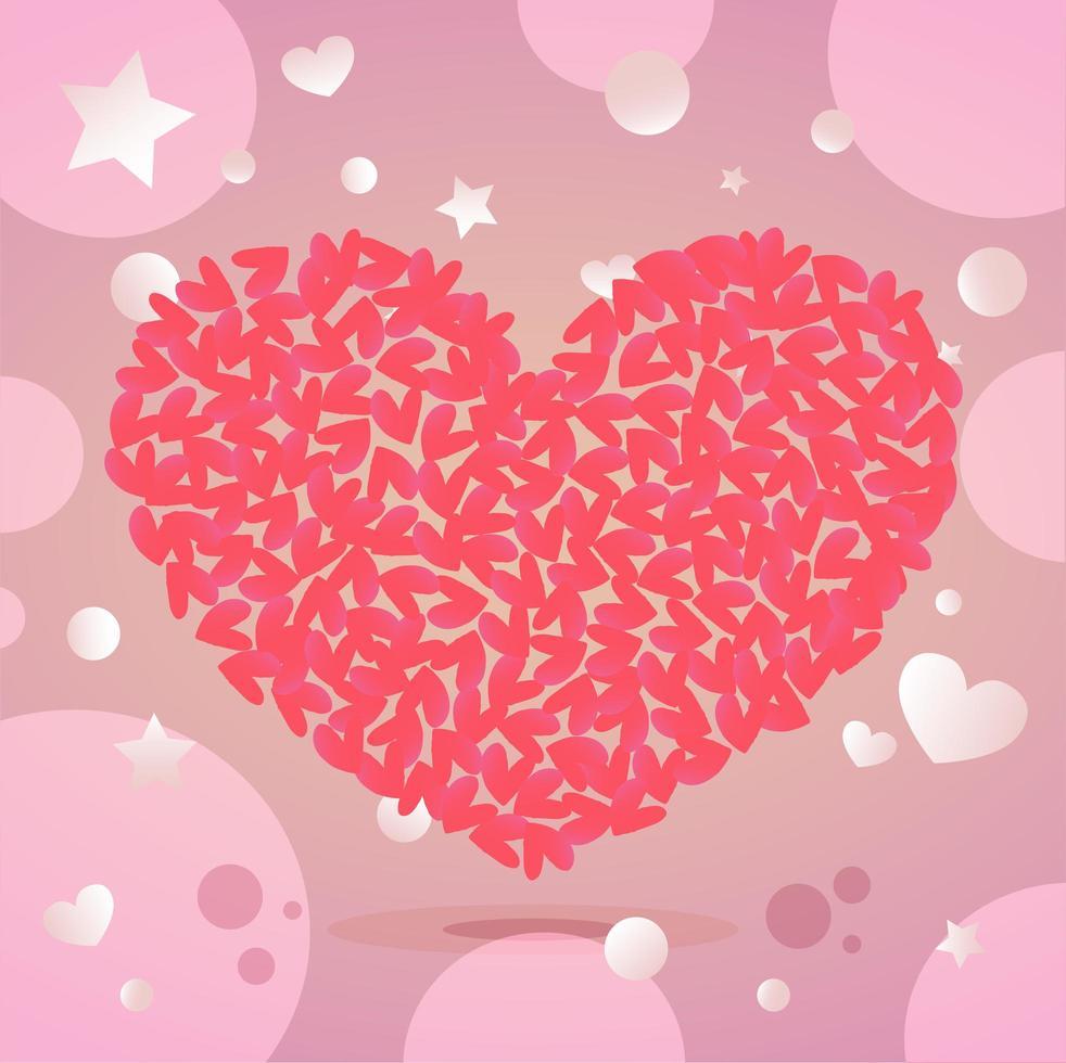 Alla hjärtans dag illustration vektor
