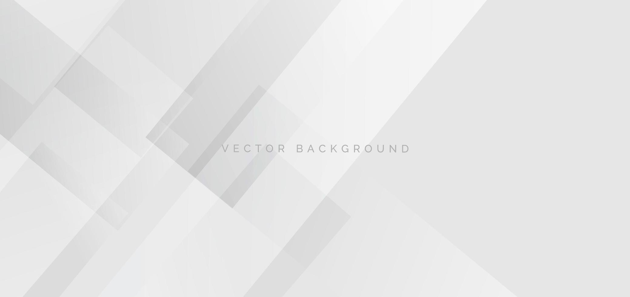 banner webb mall abstrakt vit fyrkantig form överlappande och vit rand linjer bakgrund. vektor