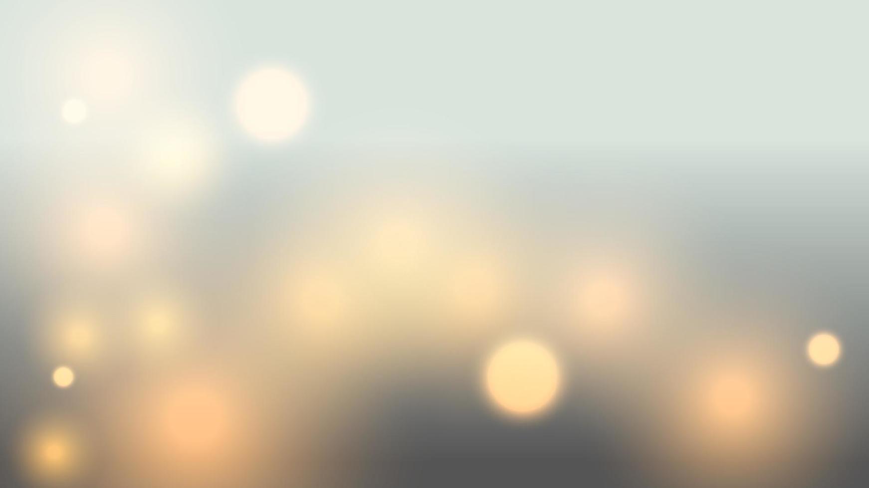 abstrakte bokeh Lichthintergrundillustration vektor