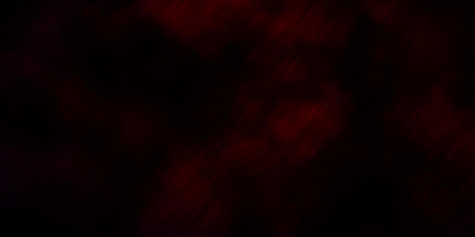 dunkelroter Vektorhintergrund mit Kurven. vektor