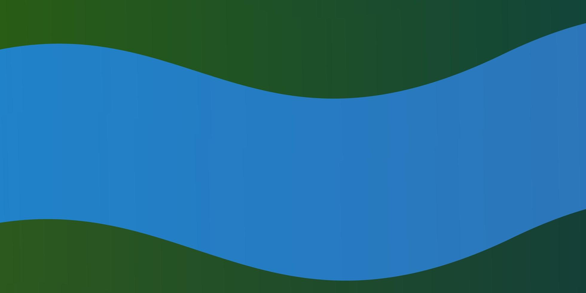 hellblauer Vektorhintergrund mit gebogenen Linien. vektor