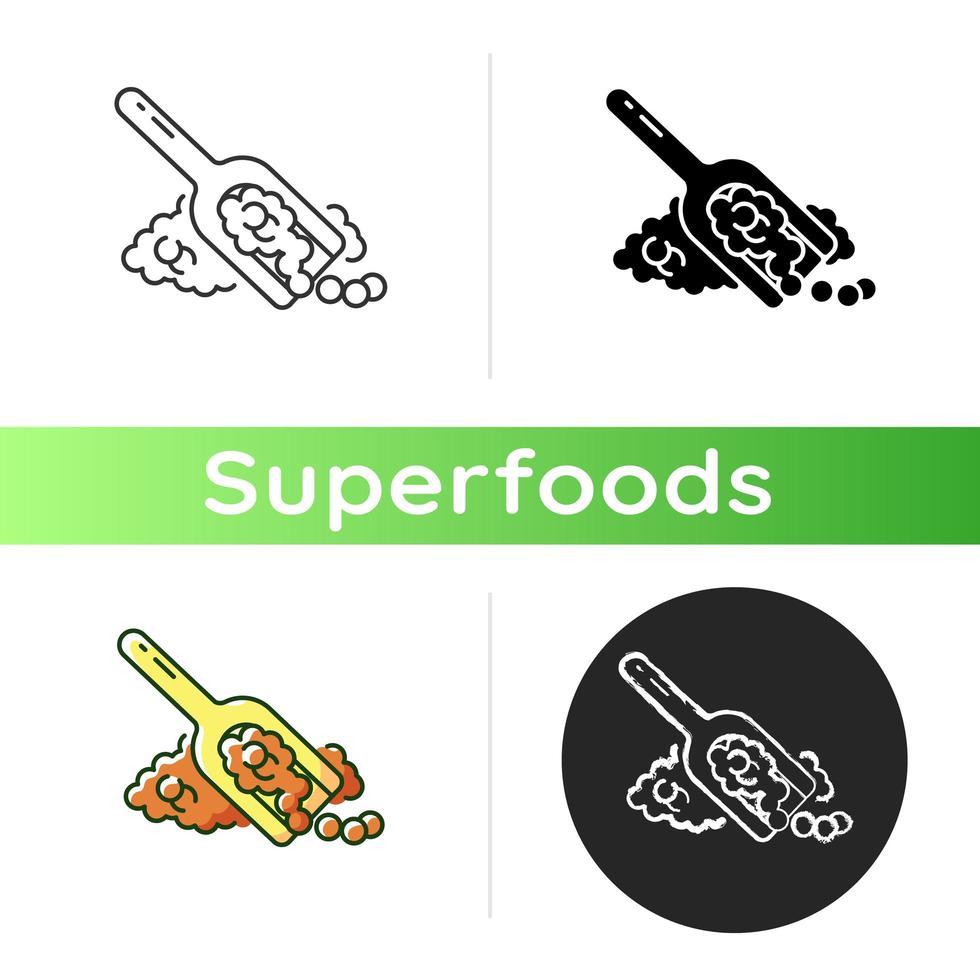 Quinoa Korn Symbol vektor