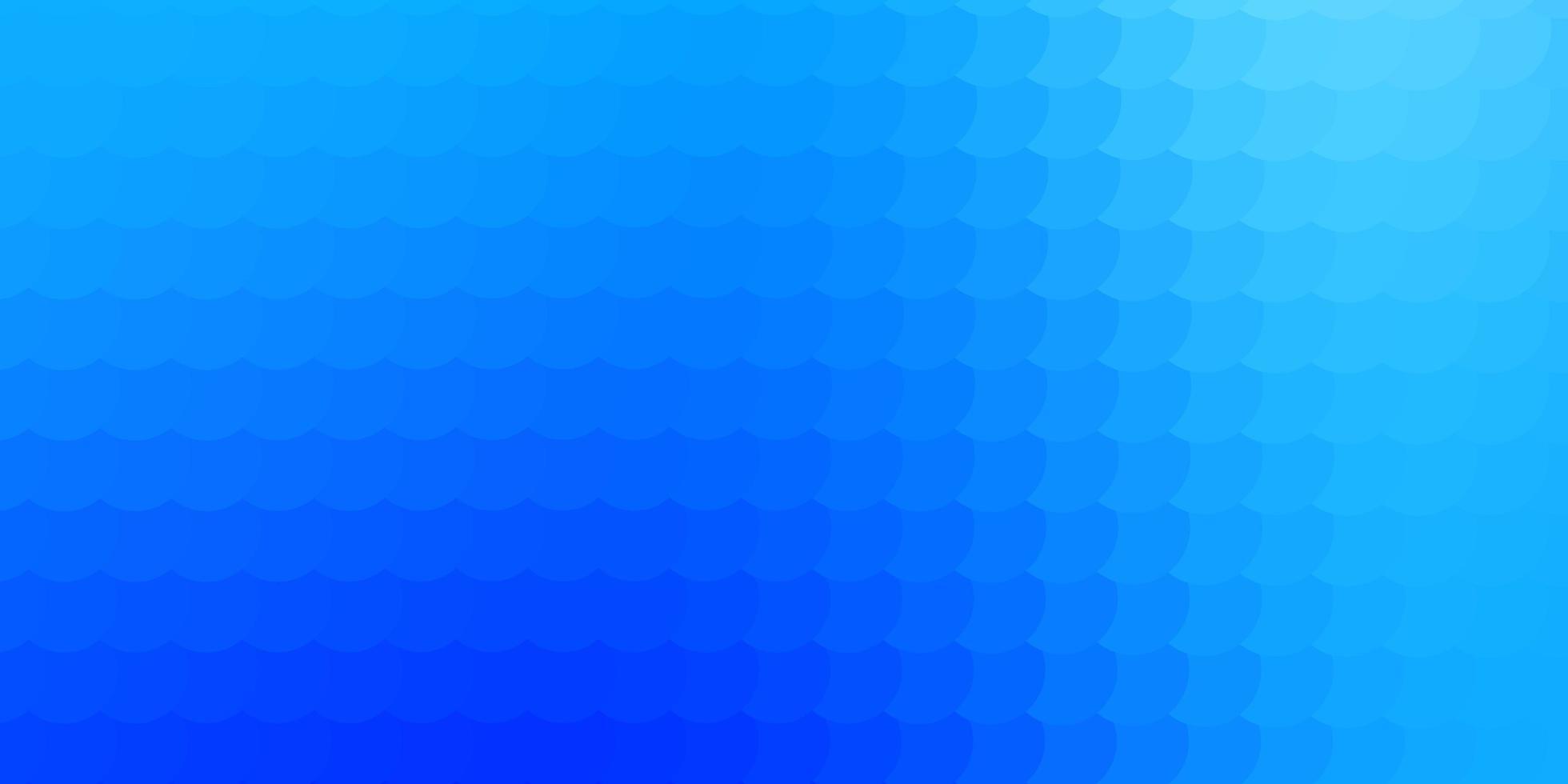 ljusblå vektormall med cirklar. vektor