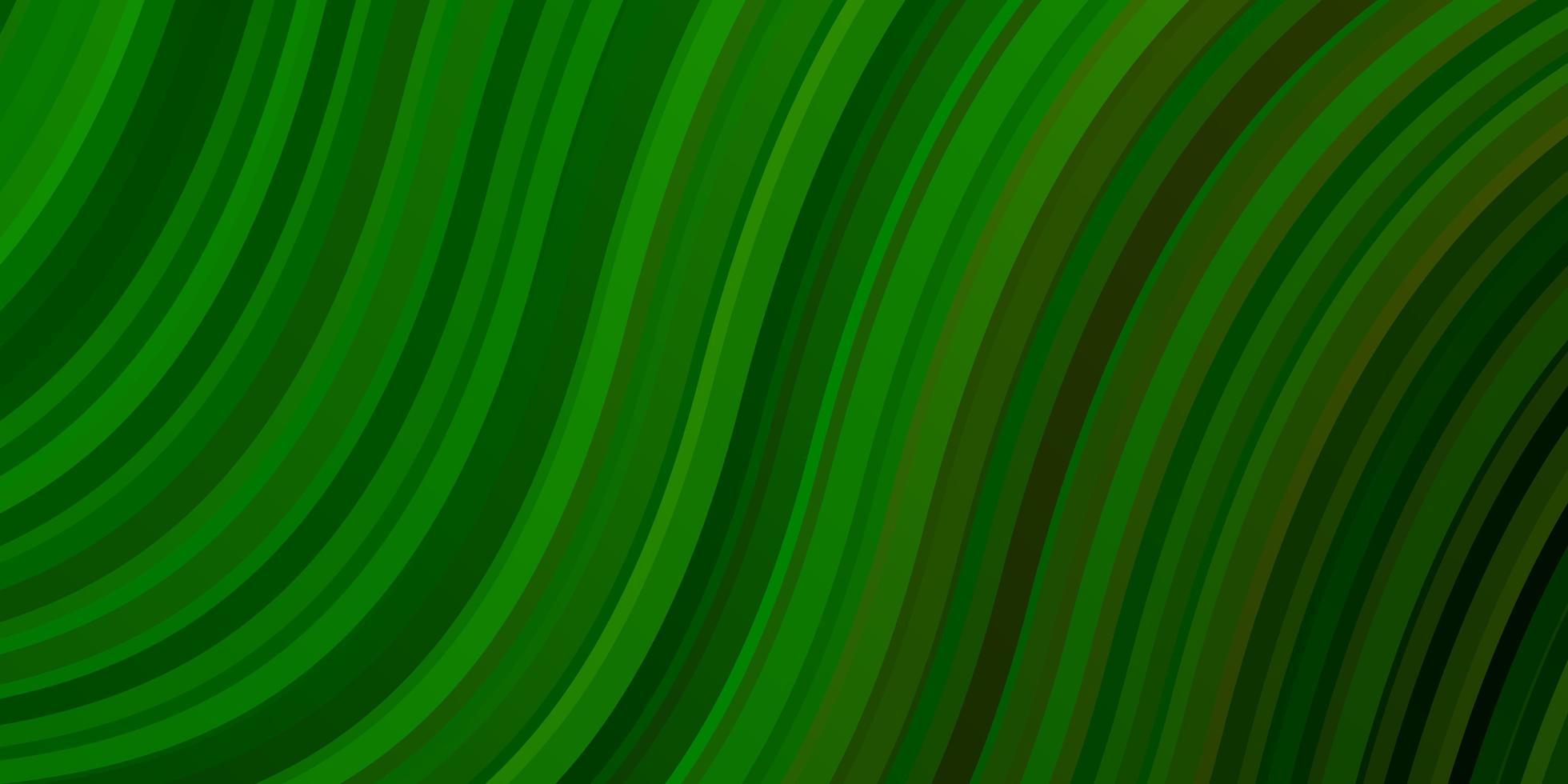 ljusgrön vektorbakgrund med sneda linjer. vektor
