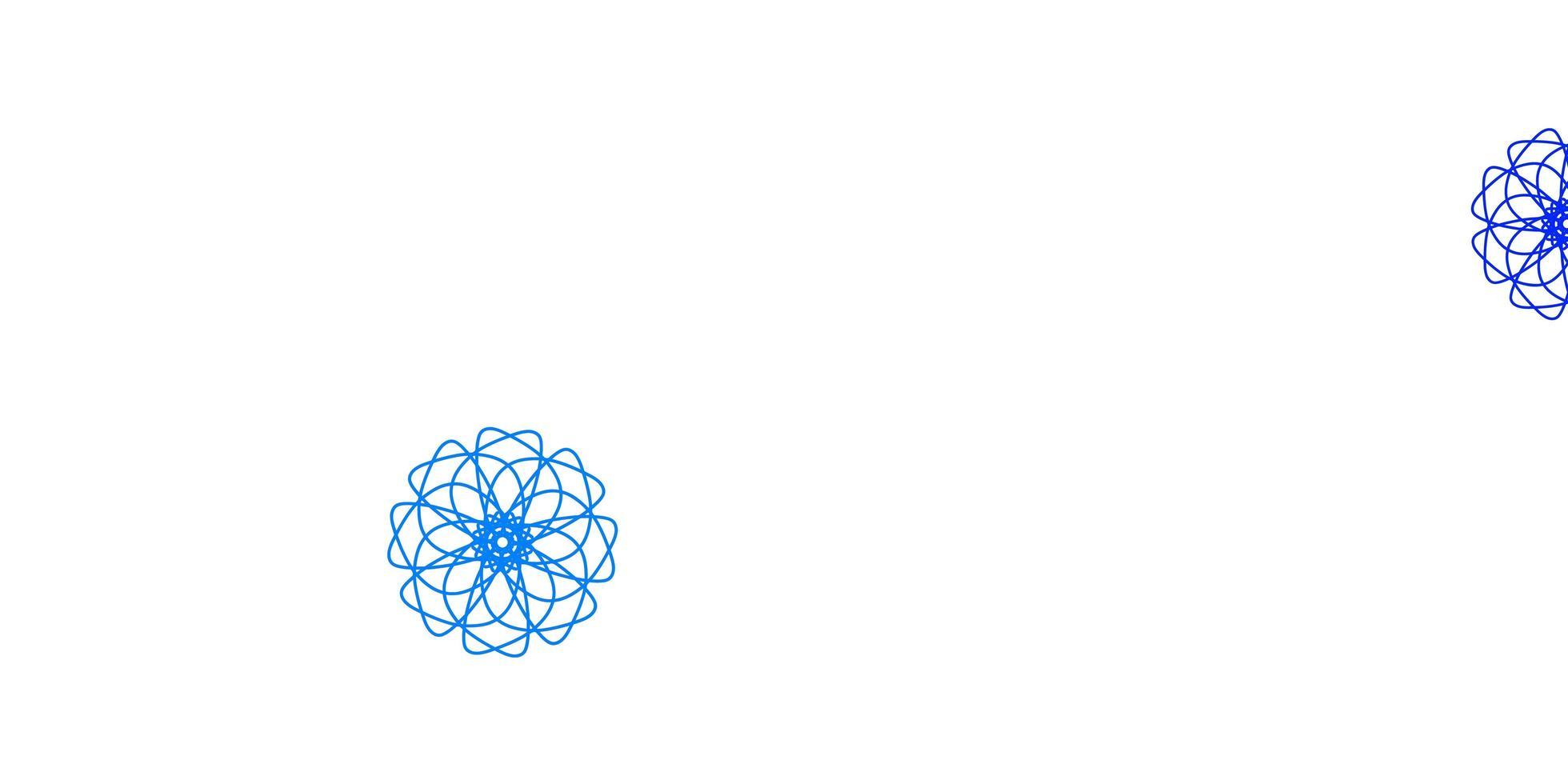 ljus flerfärgad vektor naturlig bakgrund med blommor.