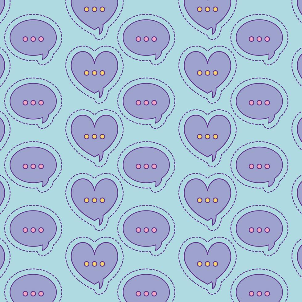 hjärtan och bubblor bakgrundsvektordesign vektor