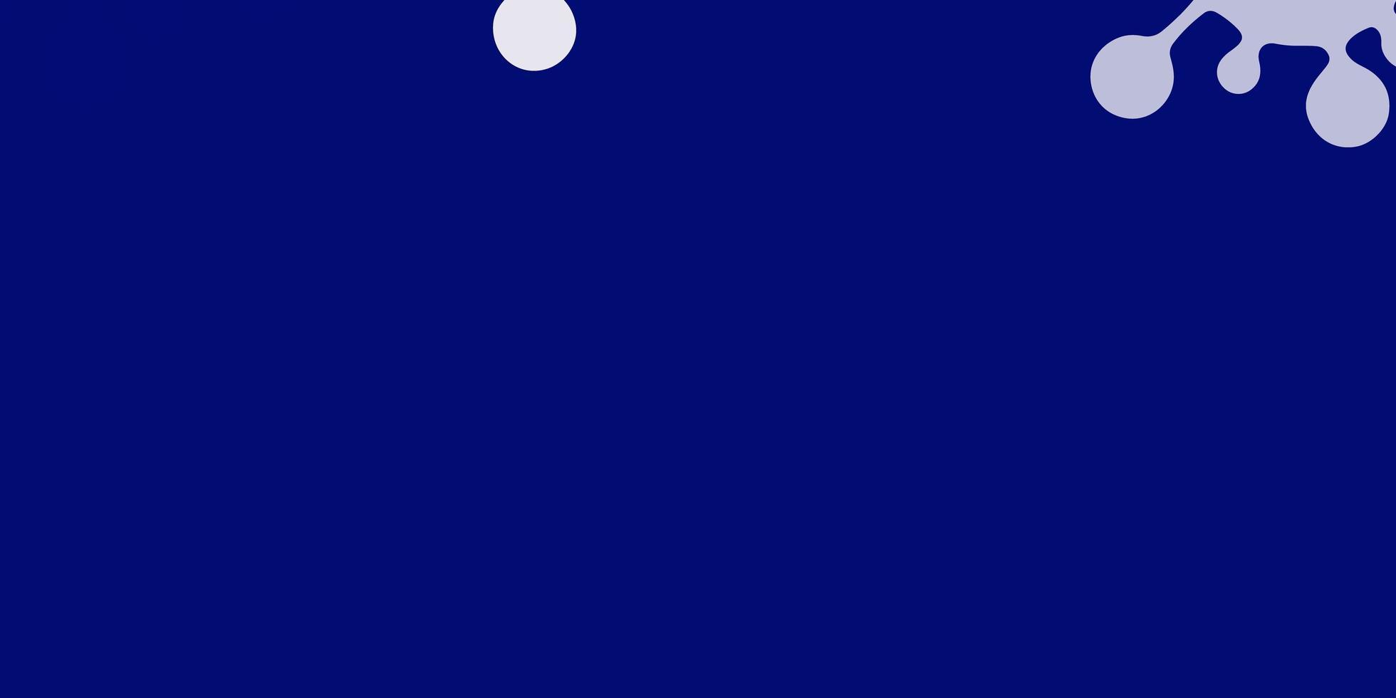 hellblauer, gelber Vektorhintergrund mit Virensymbolen. vektor