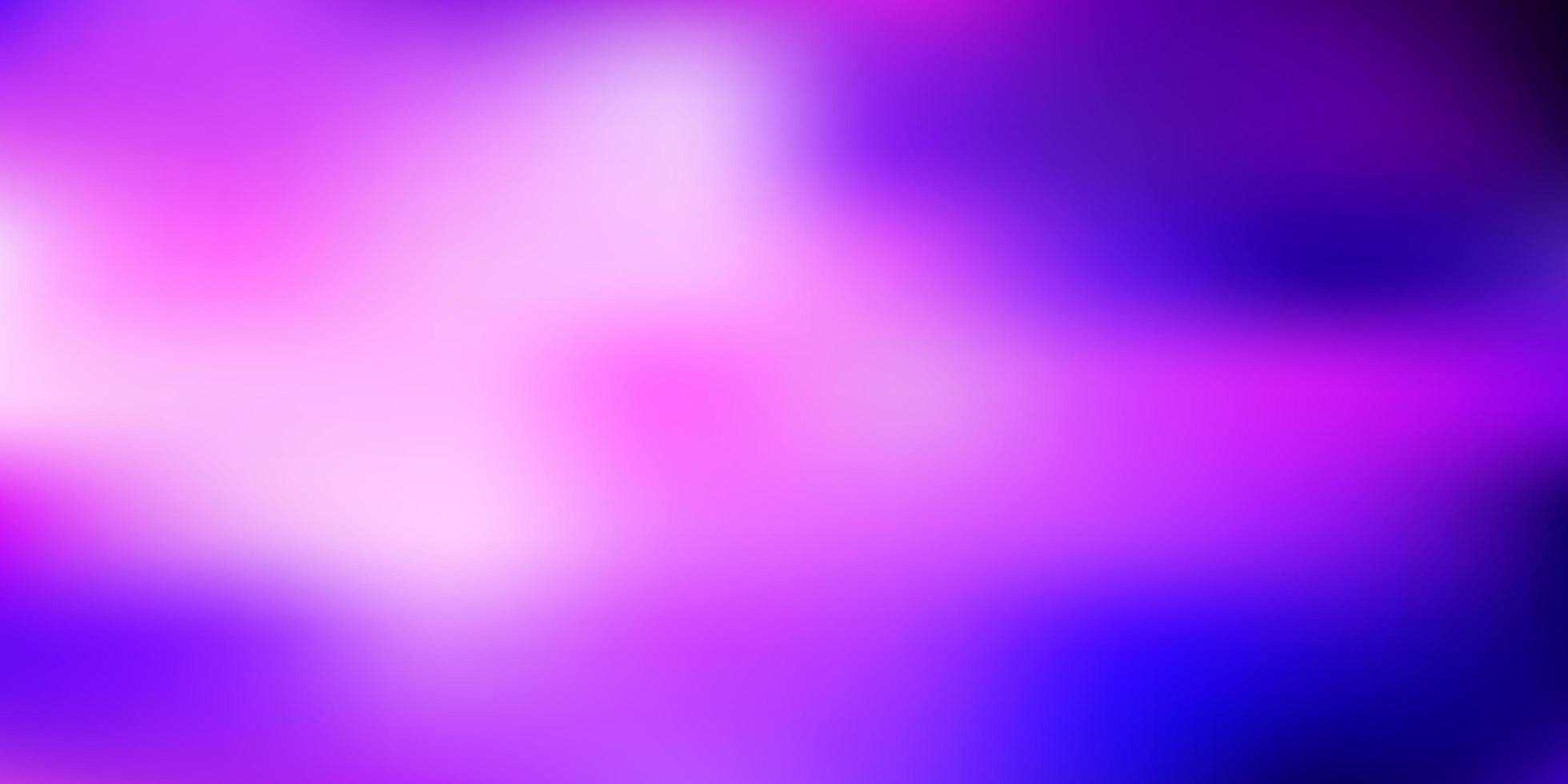 dunkelvioletter, rosa Vektor unscharfer Hintergrund.