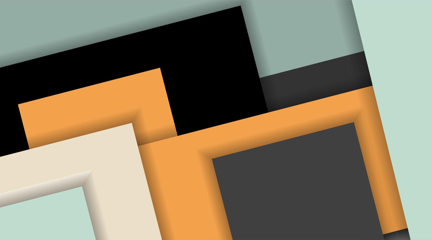 geometrische Formen des abstrakten Entwurfsmusters des Vektorhintergrunds. vektor
