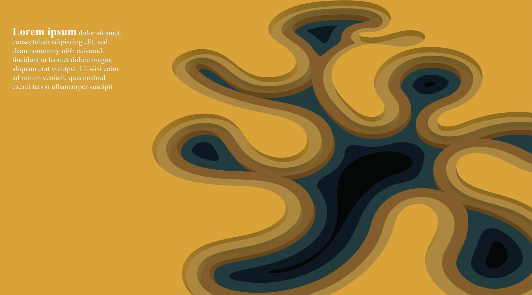 abstrakt vektor bakgrund. design illustration 3d staplade flytande former