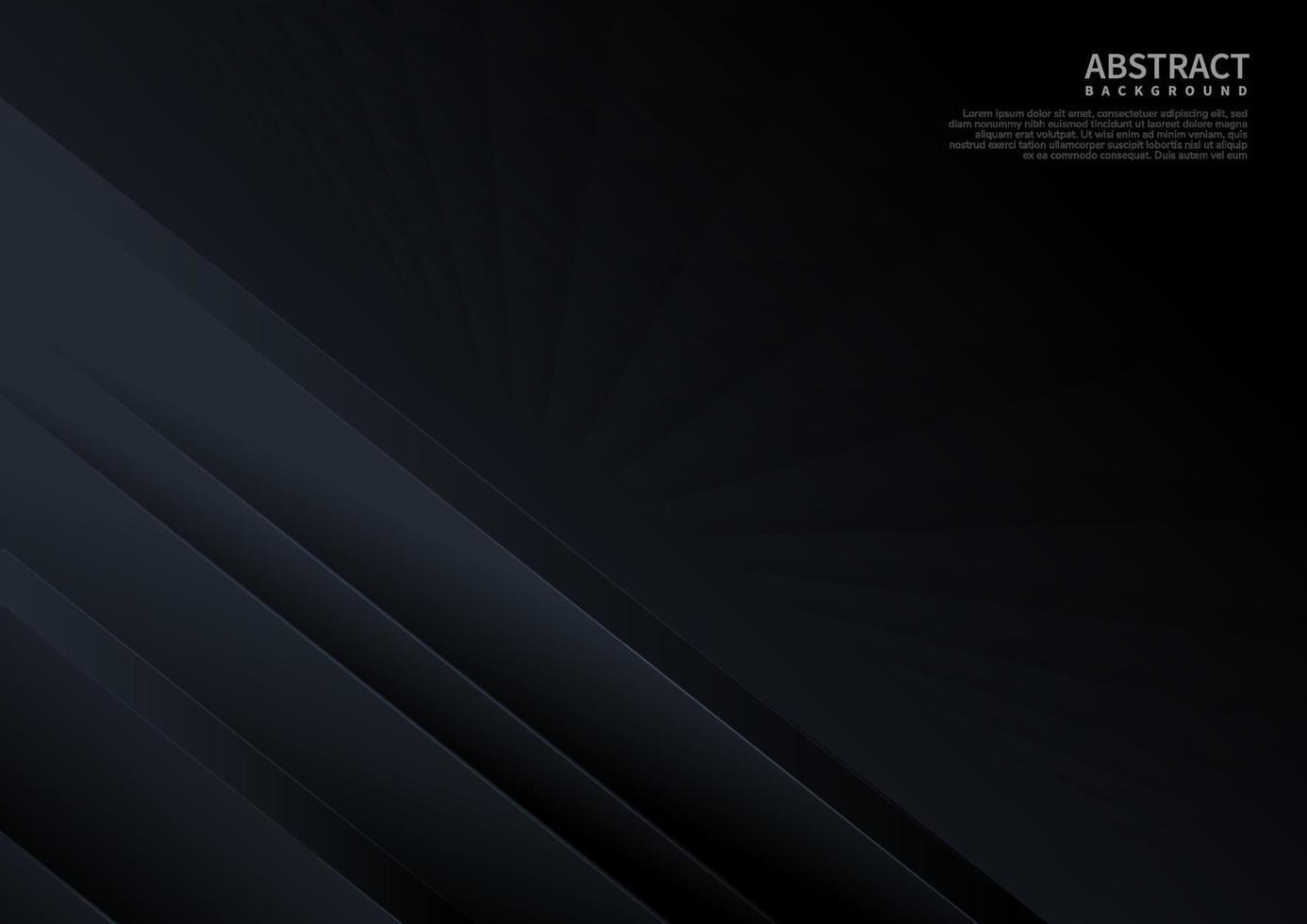 mörk abstrakt bakgrundskoncept diagonalt med randlinje dekoration fyrkantigt mönsterperspektiv. vektor