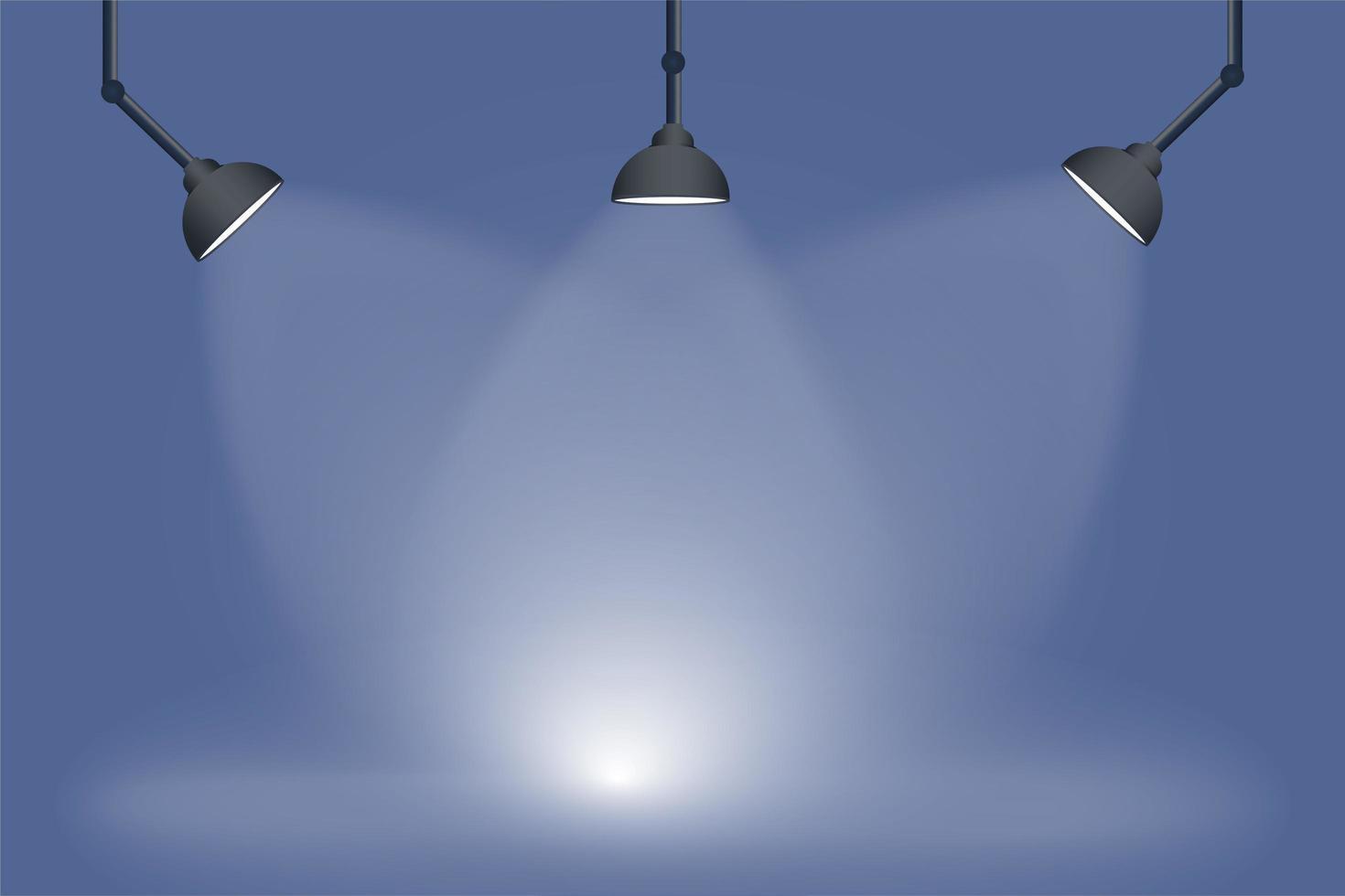 moderner Scheinwerferhintergrund vektor