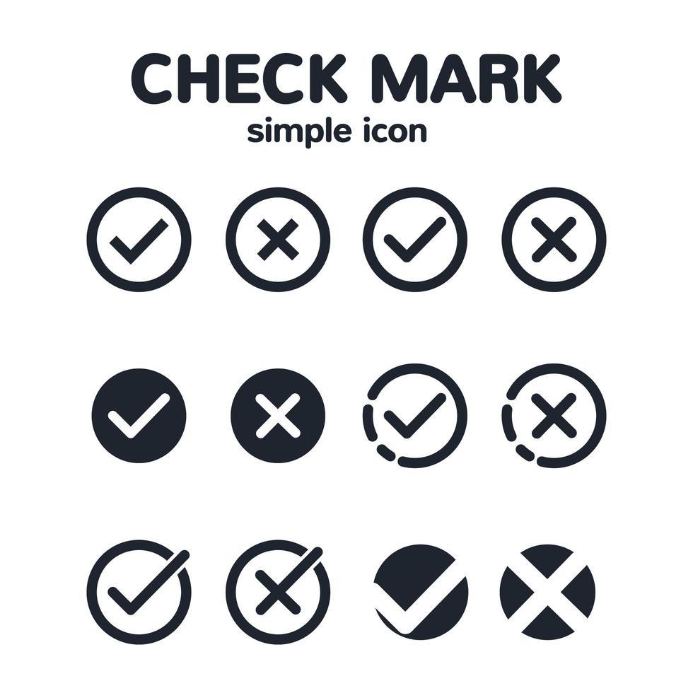 minimal bock ikonuppsättning vektor