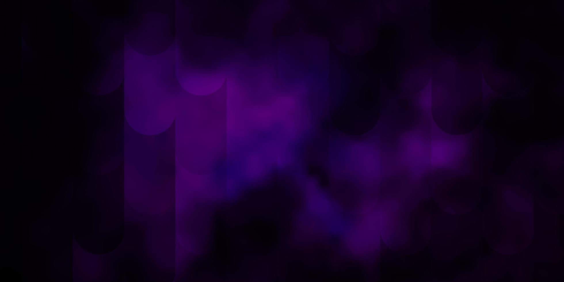 dunkelrosa Vektorschablone mit Linien. vektor