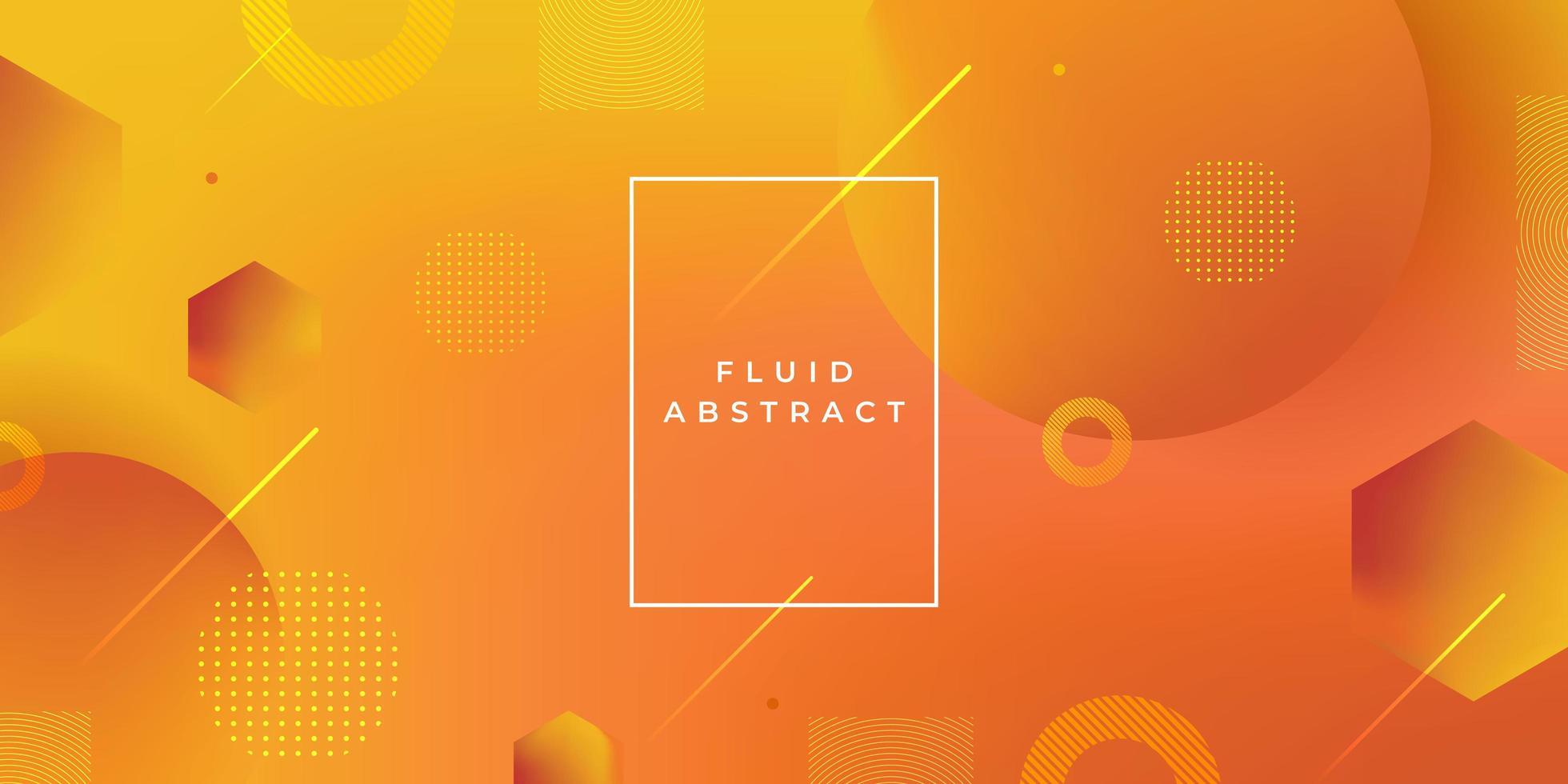 gradient geometrisk form bakgrund. dynamisk cirkel abstrakt modern stil. vektor