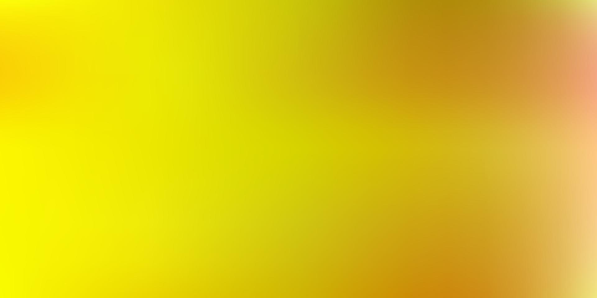 ljus orange vektor gradient oskärpa ritning.