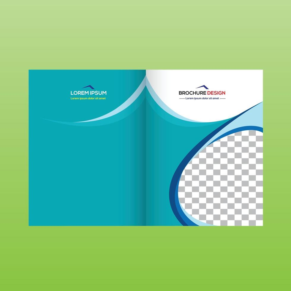 broschyr designmall vektor