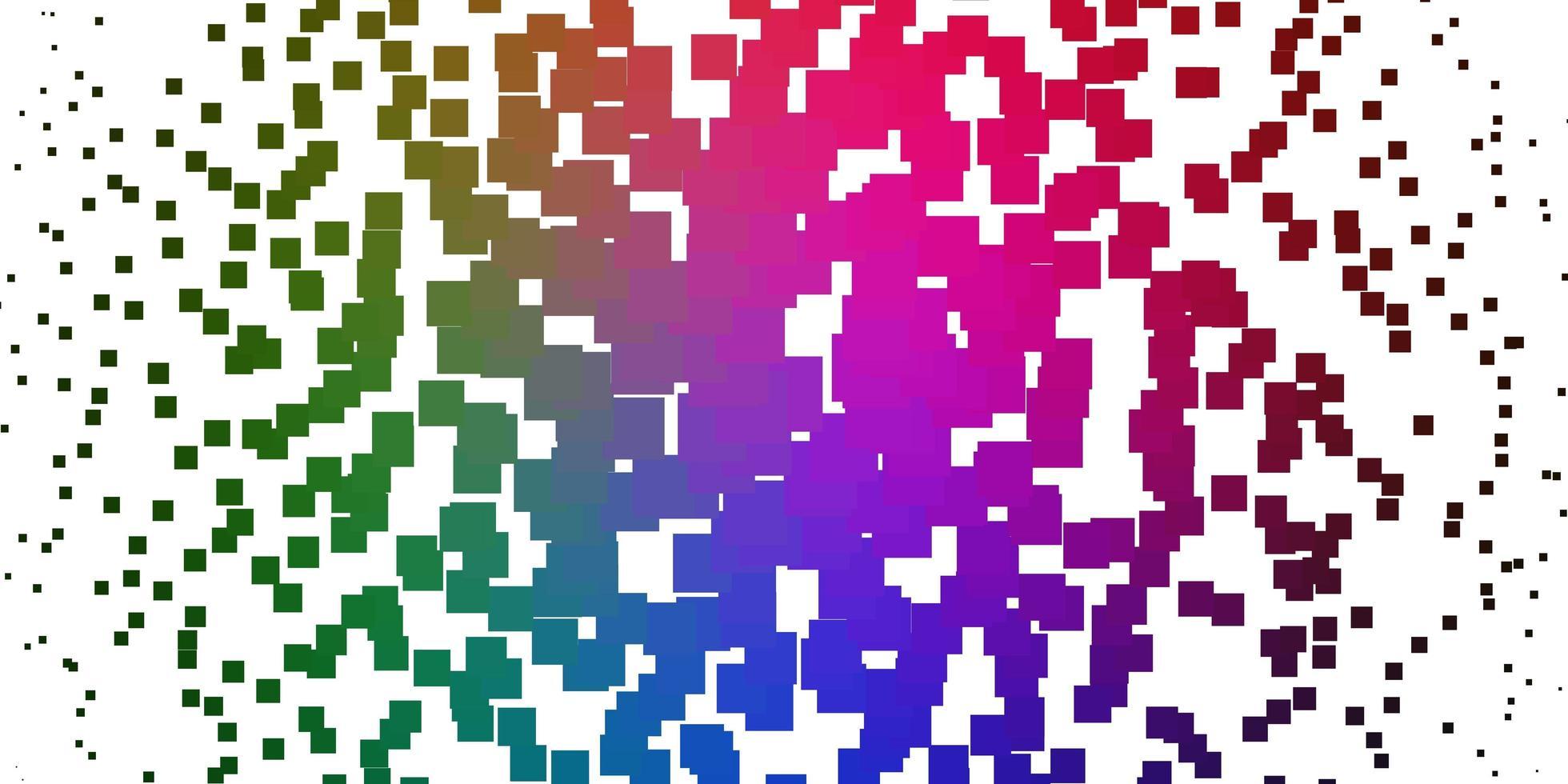 ljusrosa, grön vektormall med rektanglar. vektor
