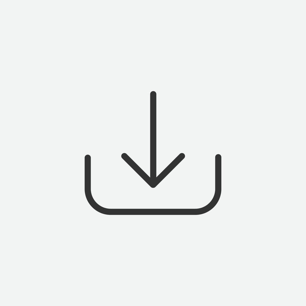ladda ner vektor isolerad ikon symbol