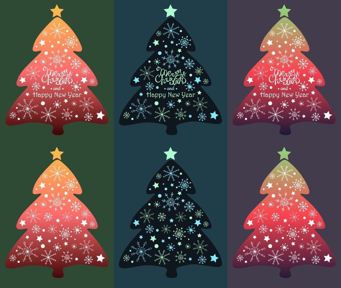julgran vektor