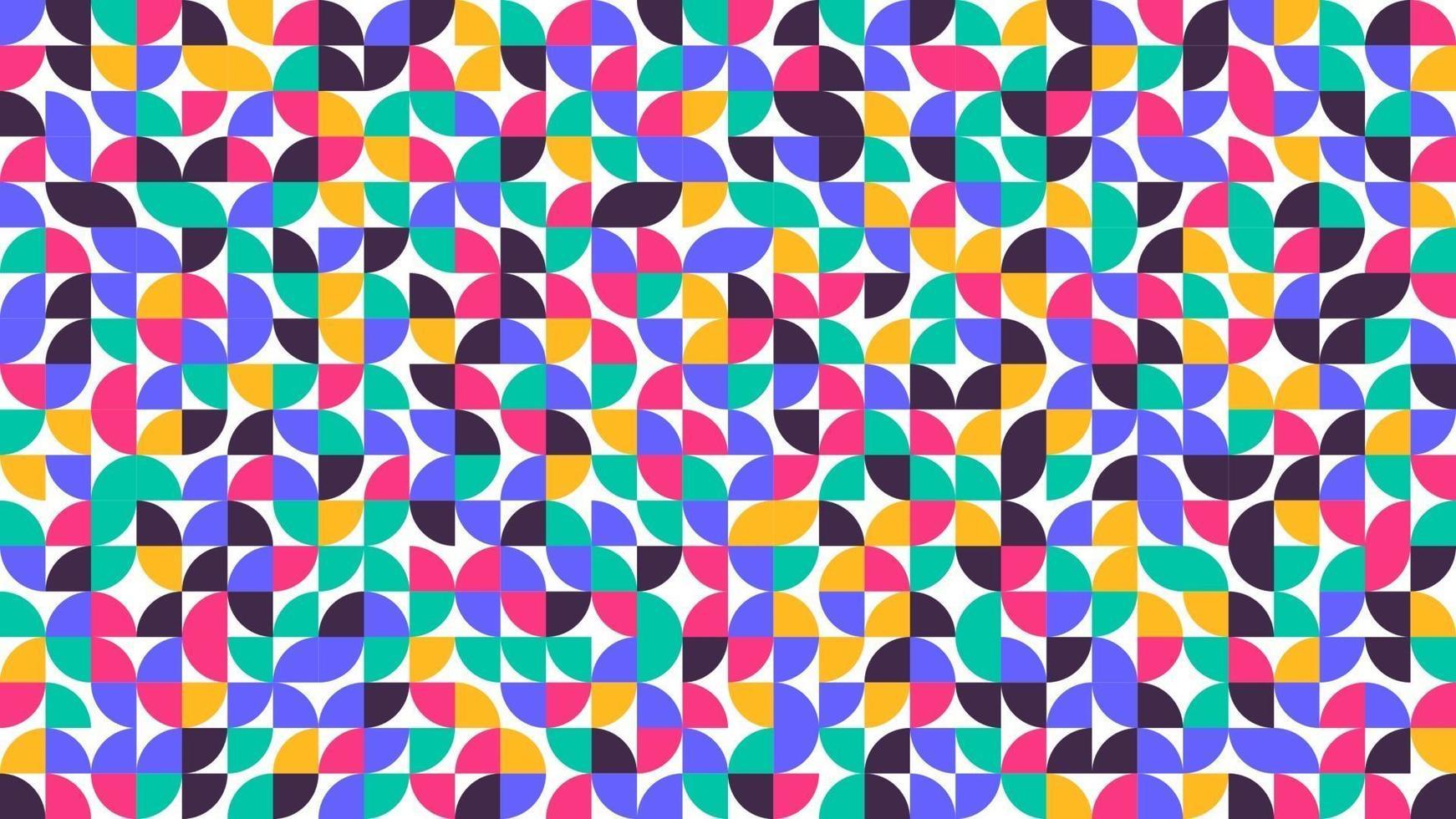 abstrakter Musterentwurf des geometrischen minimalistischen minimalistischen Artkunstplakats im skandinavischen Stil vektor