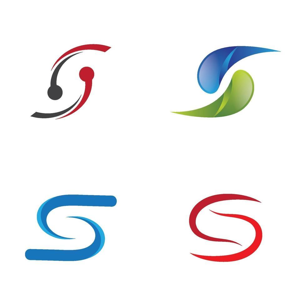 Buchstaben s Logo Bilder vektor