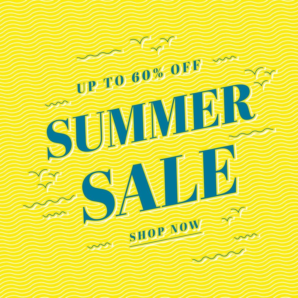 sommar försäljning banner mall design, stor försäljning specialerbjudande. slutet av säsongen specialerbjudande banner. vektor