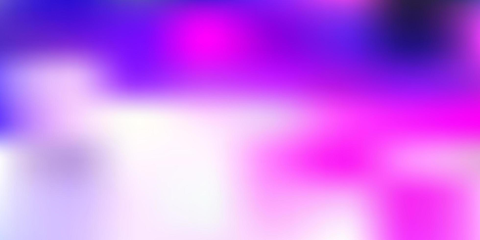 ljusrosa vektor abstrakt oskärpa mönster.