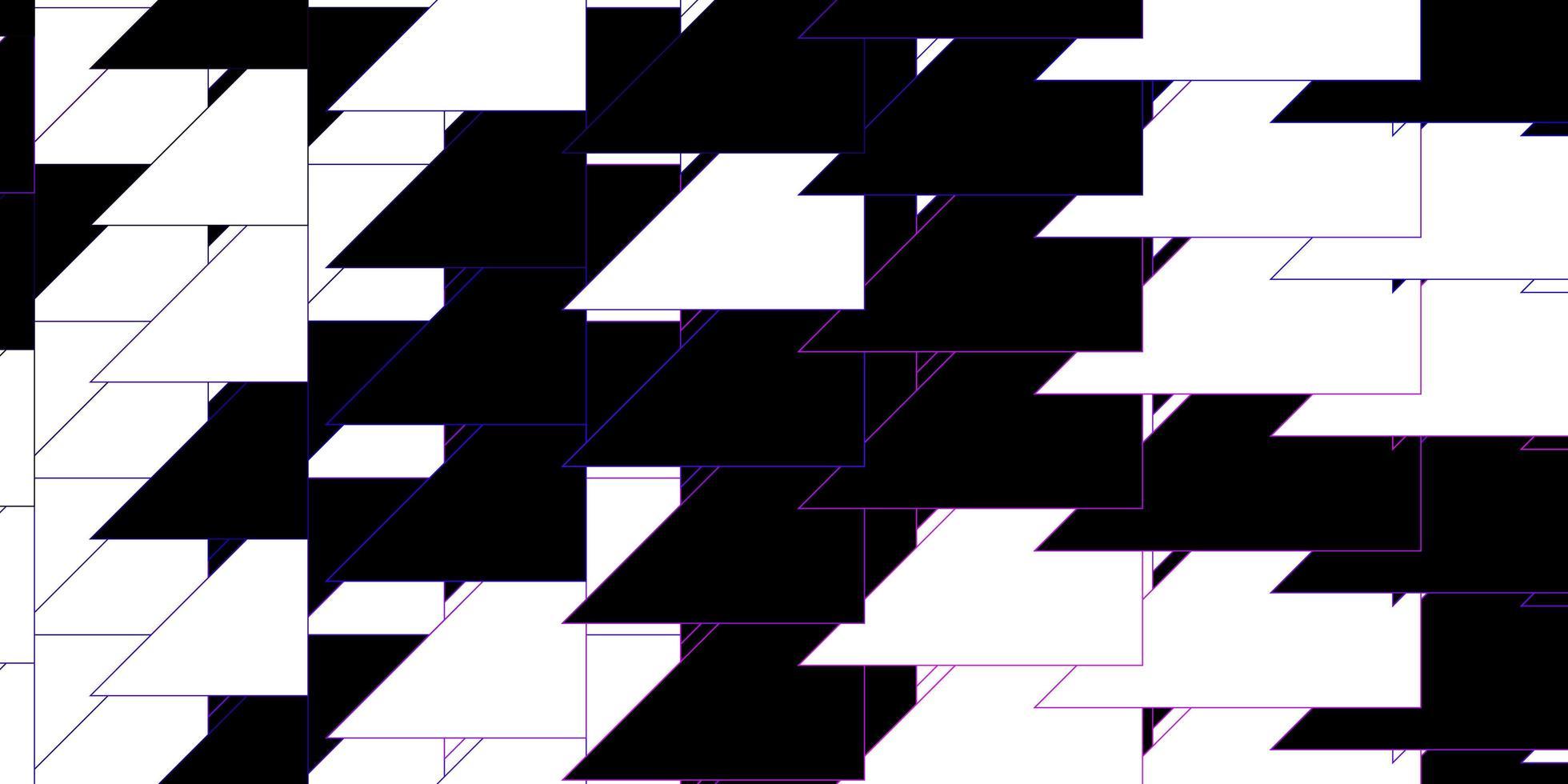 dunkelvioletter, rosa Vektorhintergrund mit Linien. vektor
