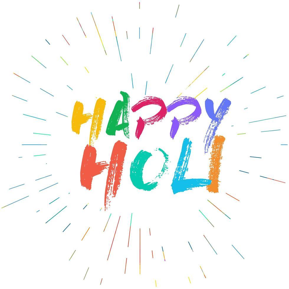 Happy Holi Festival vektor