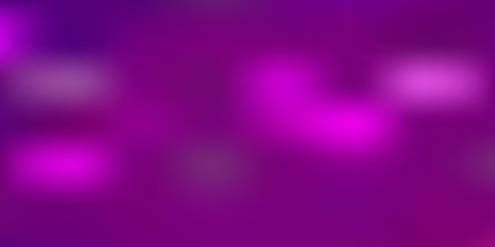 hellvioletter, rosa Vektorunschärfehintergrund. vektor