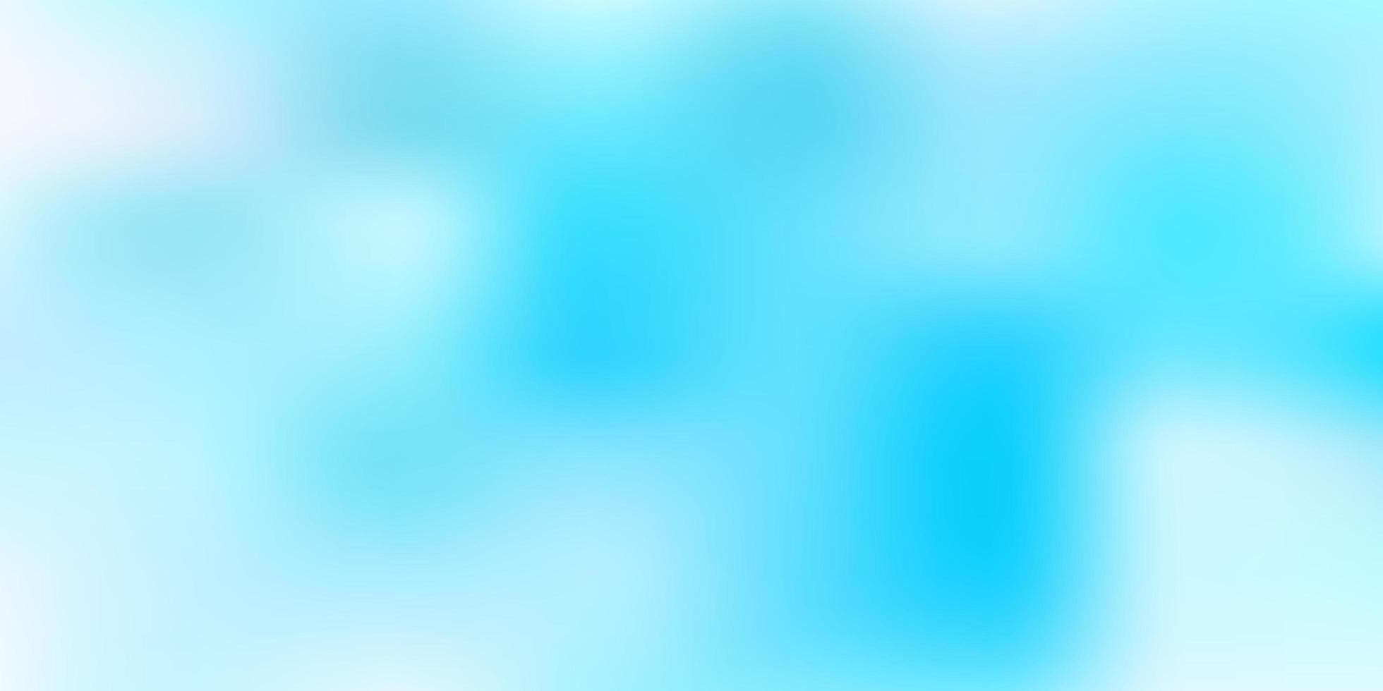hellblauer Vektor verwischen Hintergrund.