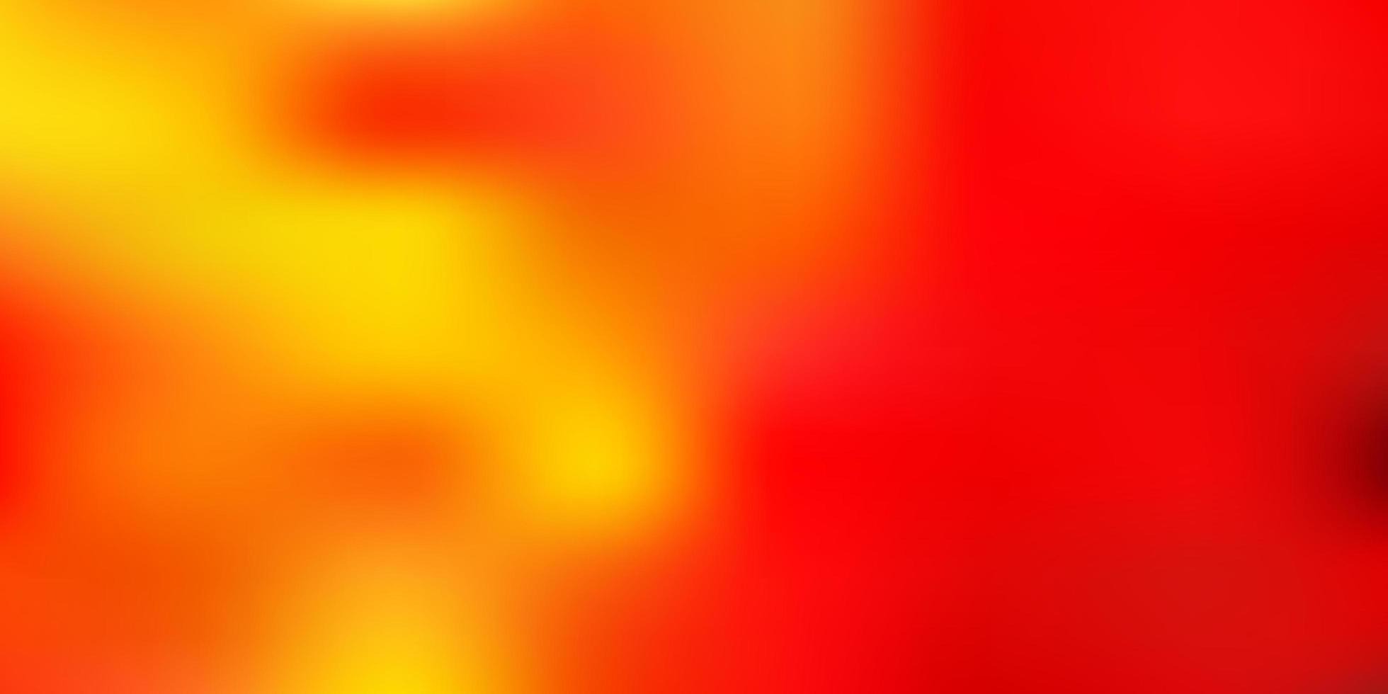 hellorange Vektor abstrakte Unschärfe Hintergrund.